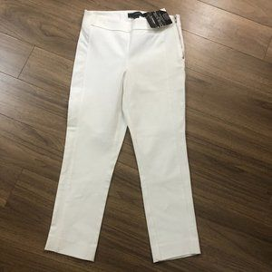 BNWT Le Chateau off white ankle cropped pants